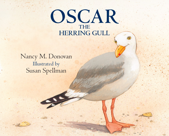 Oscar the Herring Gull, a children's book by Nancy Donovan, illustrated by Nancy Spellman